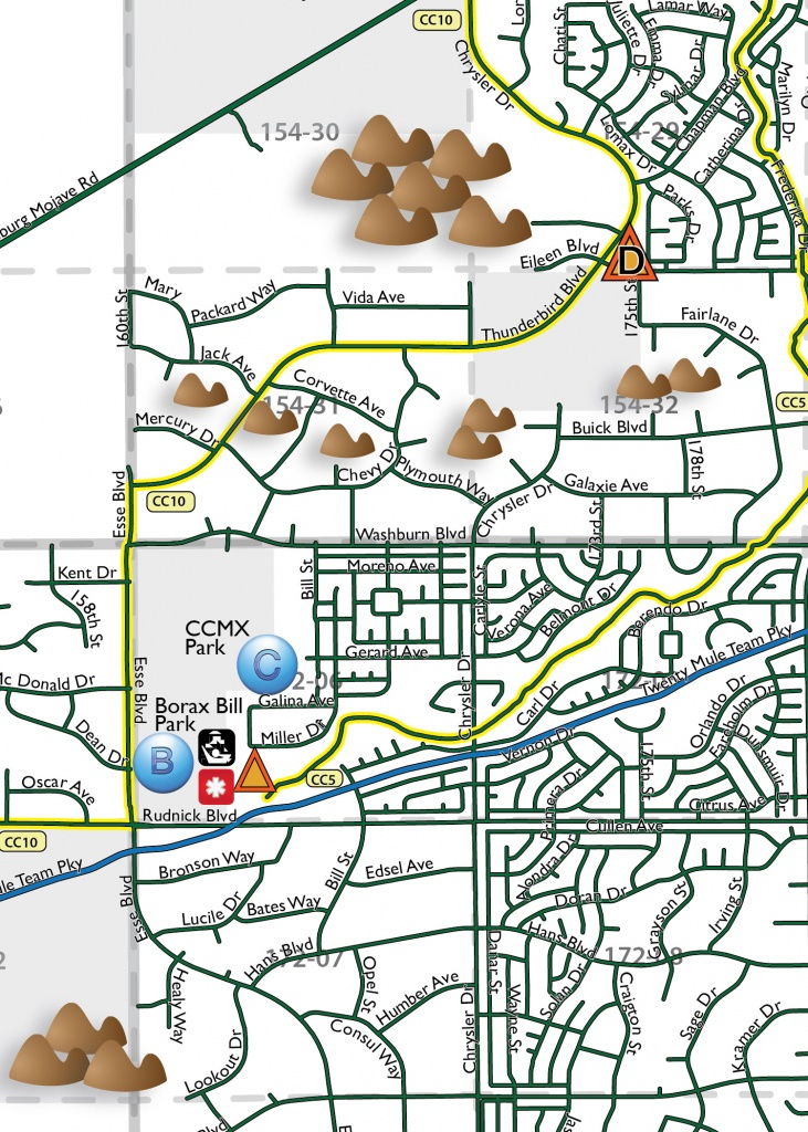California City Ohv Rider Map - City Of California City - Avenza Maps - California Ohv Map