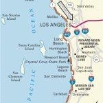 California Coast Attractions Map Map San Clemente California Klipy   California Coast Attractions Map