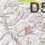 California Deer Hunting Zone D5 Map   Huntdata Llc   Avenza Maps   California D5 Hunting Zone Map
