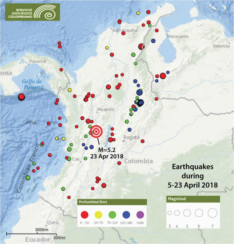 California Earthquake Index Map California Earthquake Today Map - Earthquake California Index Map