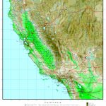 California Elevation Map   National Geographic Topo Maps California