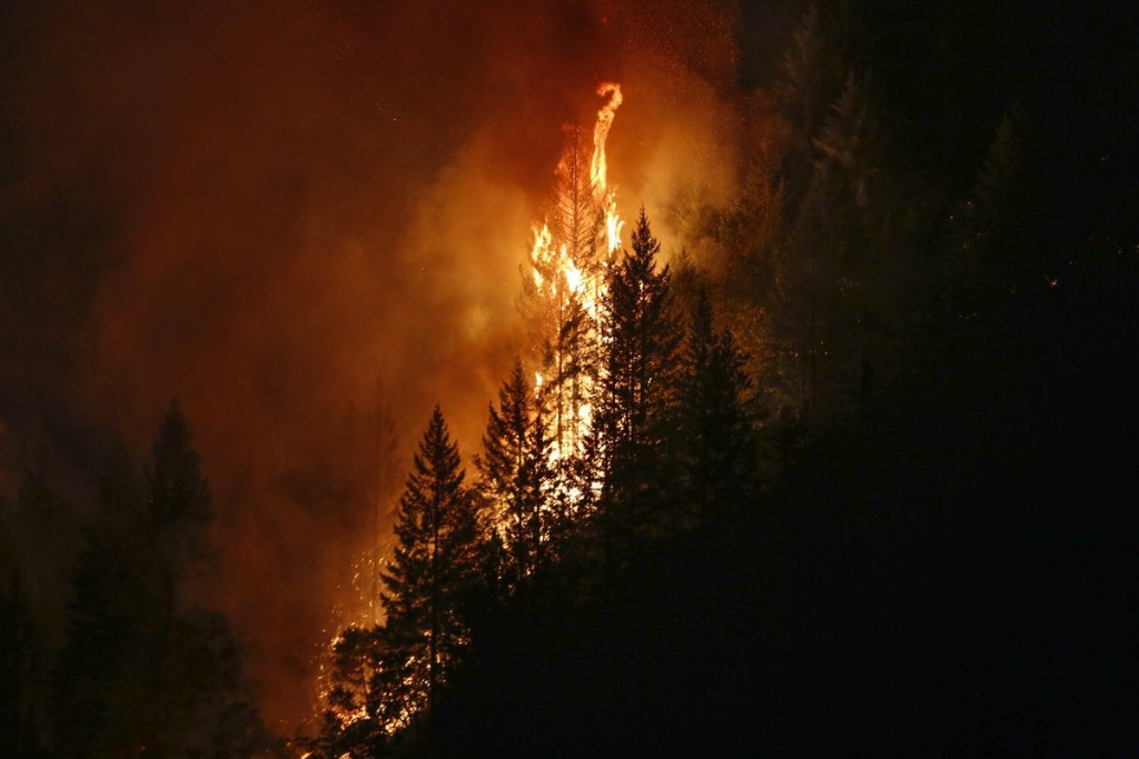 California Fires Break Records, Double Historical Average - Curbed Sf - California Fire Heat Map