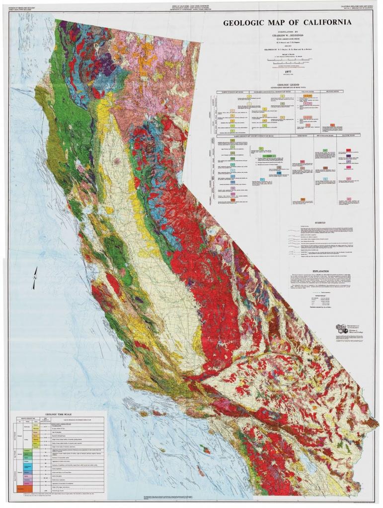 California Geological Survey - Geologic Maps Of California | Work - California Geological Survey Maps
