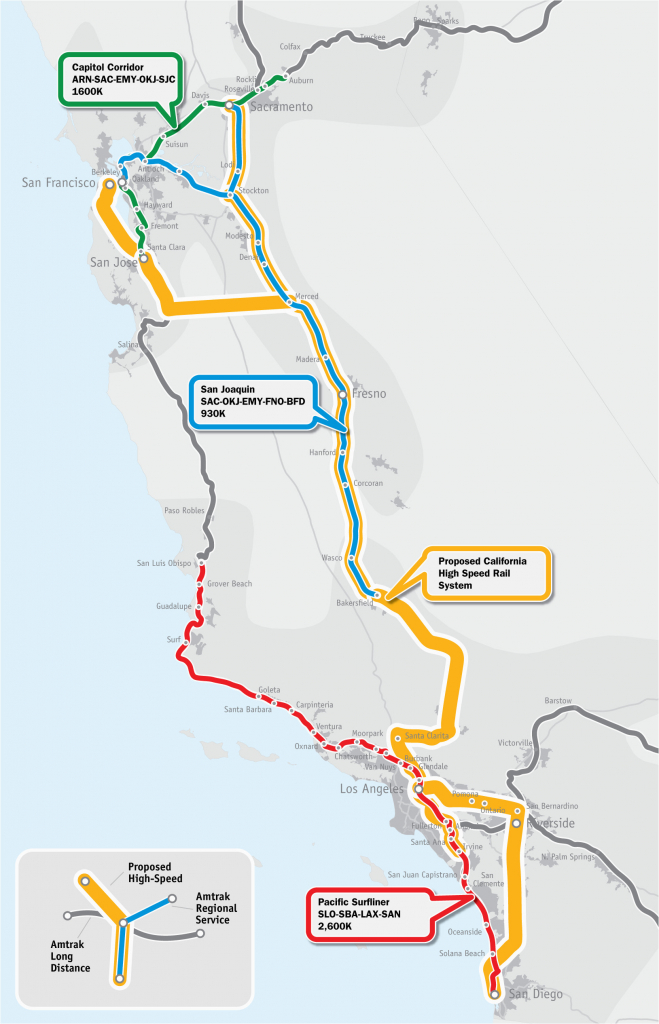 California High Speed Train Map Our Maps America 2050 – Secretmuseum - California Train Map