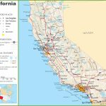 California Highway Map – California Landforms Map