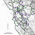California Highways (Www.cahighways): San Francisco/bay Area   Map Of California Highways And Freeways