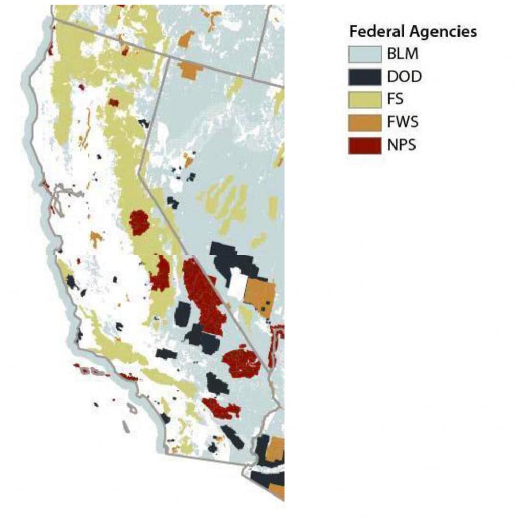 California Historical Society: Historically Speaking: Land Ownership - California Land Ownership Map