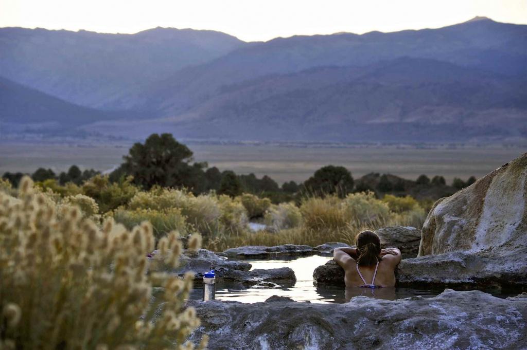 California Hot Springs Guide: Where To Soak - Hot Springs California Map