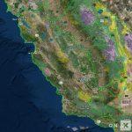California Hunt Zone A South Unit 160 Deer   California D5 Hunting Zone Map