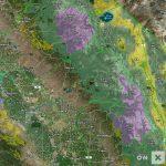 California Hunt Zone D7 Deer   California D5 Hunting Zone Map