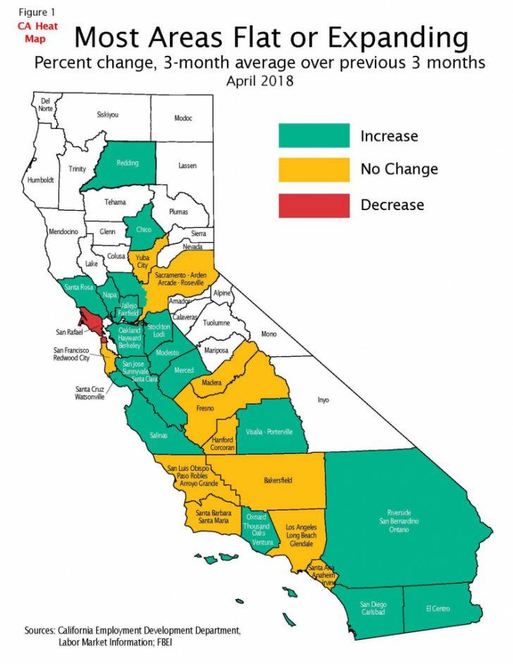 California Heat Map