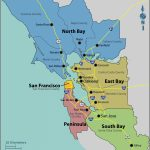 California Map Landforms San Francisco Bay Area | Travel Maps And   California Landforms Map
