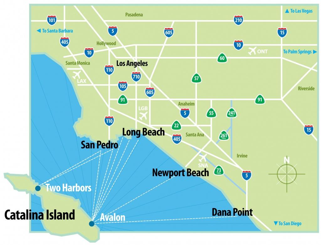 California Map Of Beaches For Dana Point - Touran - Dana Point California Map
