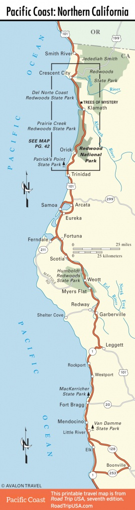 California National Park Map And Travel Information | Download Free - Northern California National Parks Map