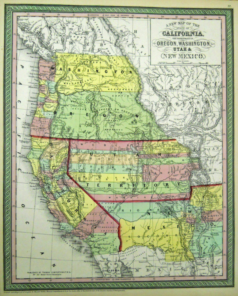 California Oregon Border Map - Lgq - California Oregon Border Map