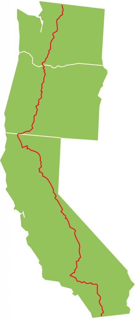 California Oregon Washington Map | World Map Gray - California Oregon Washington Map