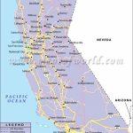 California Road Map, California Highway Map   Detailed Map Of California Coastline