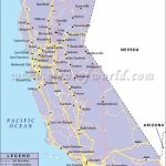 California Road Network Map | California | California Map, Highway   Map Of California Usa