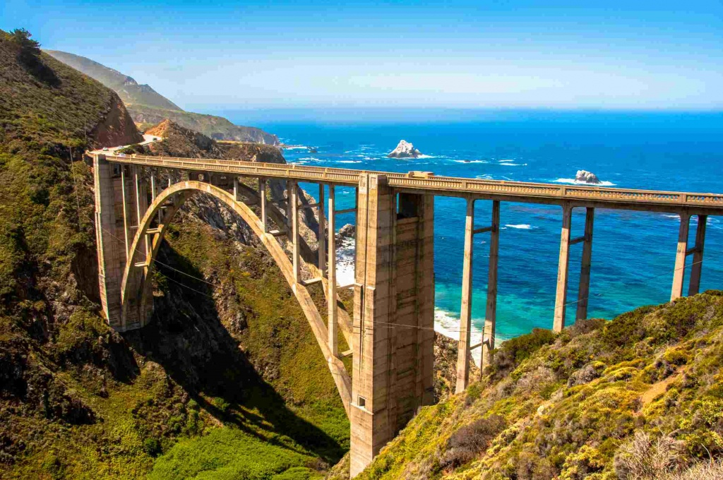 California Scenic Drives: 7 Routes You Have To Take - California Highway 1 Scenic Drive Map