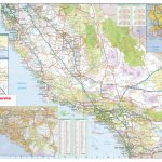California Southern Wall Map Executive Commercial Edition – Detailed Map Of Southern California