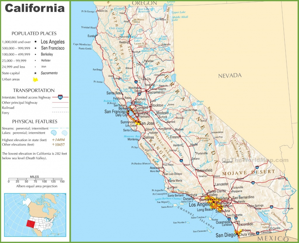 California State Highway Map And Travel Information   Download Free - California Highway Map Free