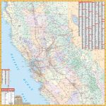 California State North Central Wall Map – Kappa Map Group   Northern California Wall Map