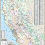 California State North Wall Map – Kappa Map Group   Northern California Wall Map