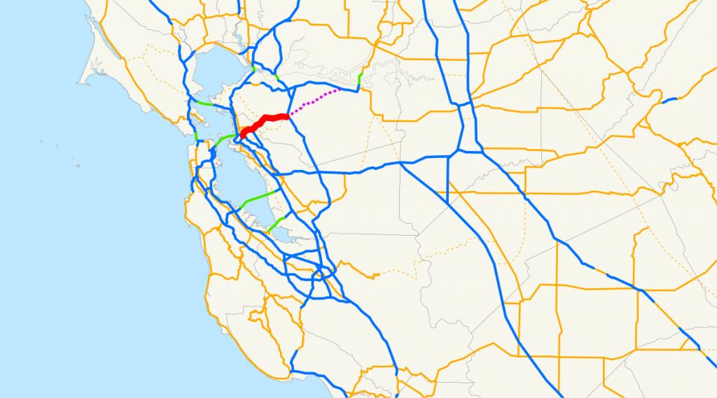 California State Route 24 - Wikipedia - California Truck Routes Map