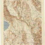 California Topographic Maps   Perry Castañeda Map Collection   Ut   Printable Map Of Riverside County