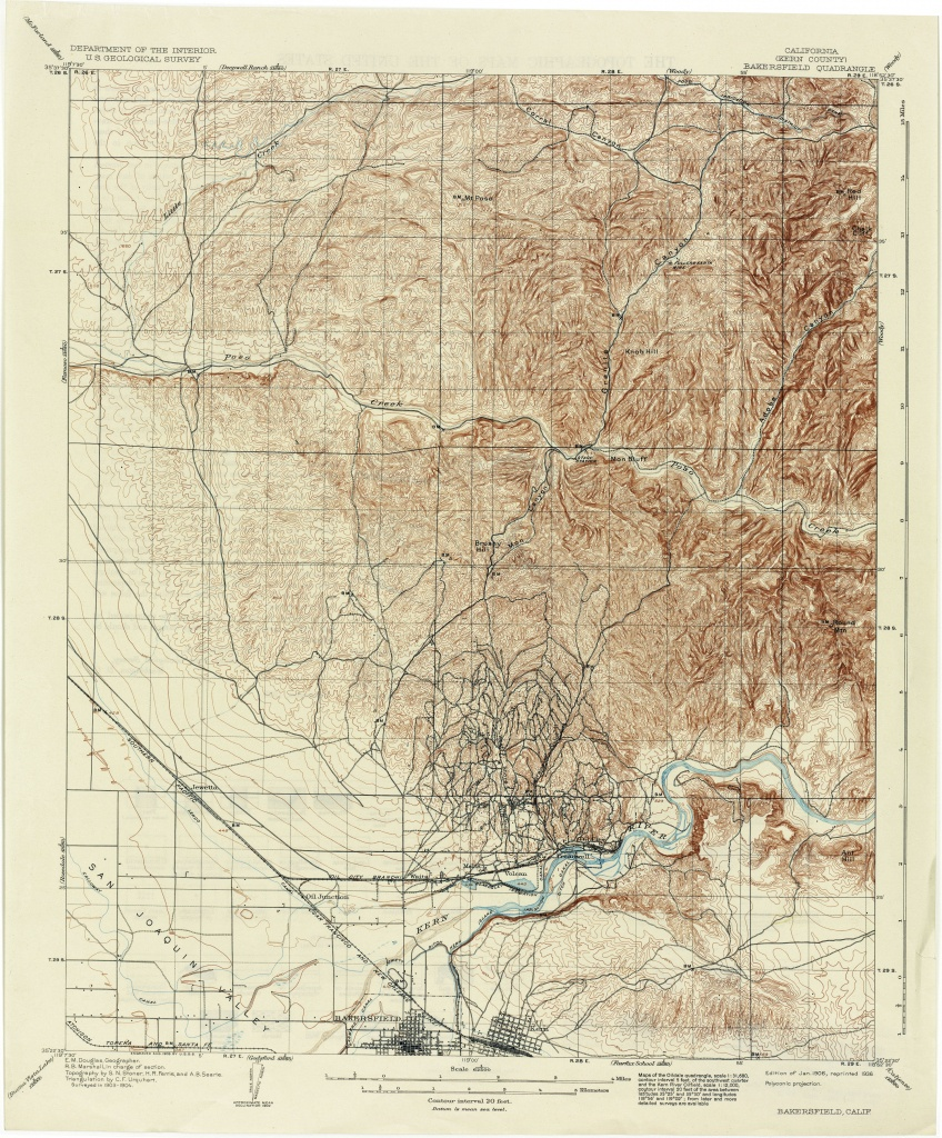 California Topographic Maps - Perry-Castañeda Map Collection - Ut - Usgs Topo Maps California