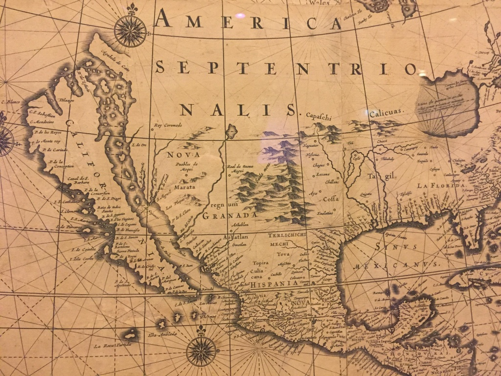 California Was Drawn As An Island On Old Maps : Mildlyinteresting - Old California Map