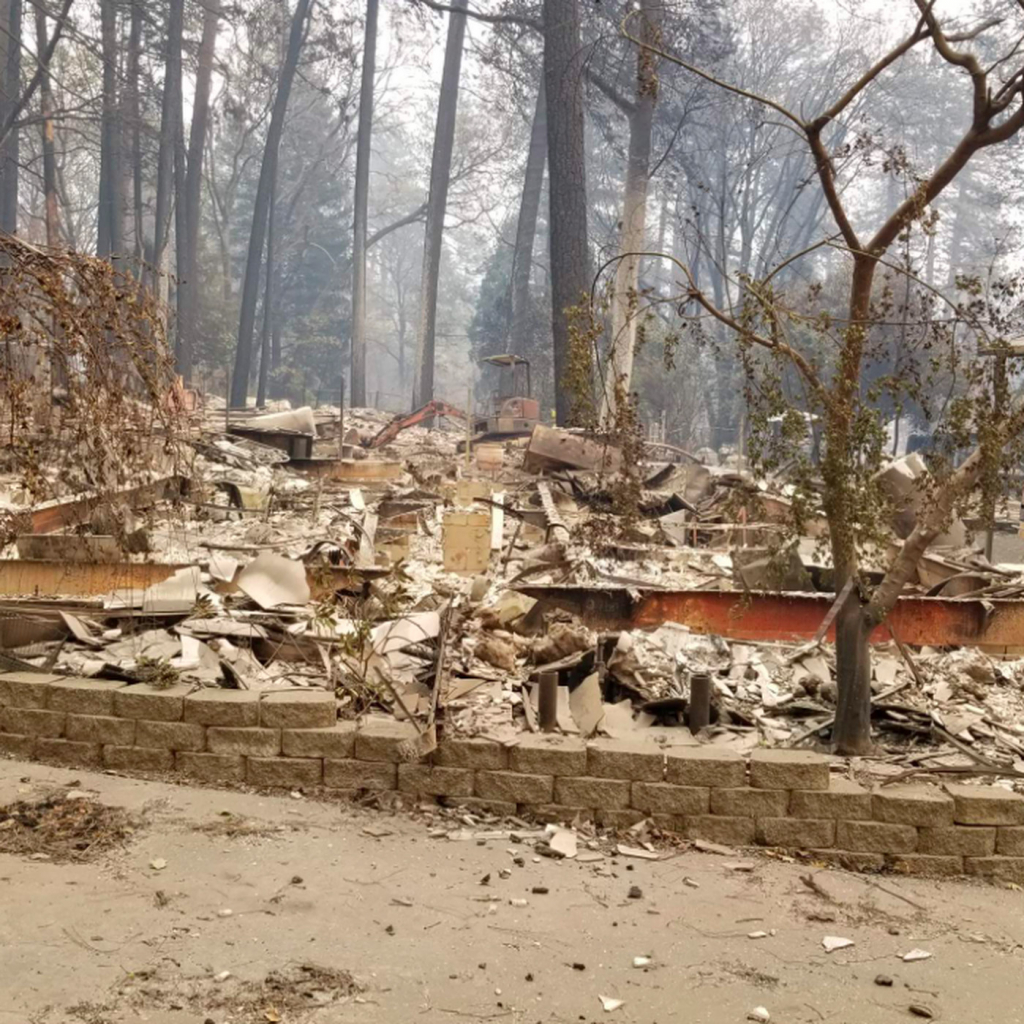 California Wildfire: Map Shows Homes Destroyed The Camp Fire - Curbed Sf - Paradise California Map
