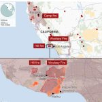 California Wildfires: Fears Of Further Damage As Winds Strengthen   Fire Watch California Map