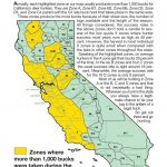 California Zone Map For Deer Hunting – Map Of Usa District - California Deer Zone Map