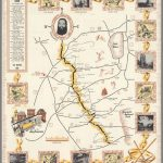California's Golden Chain : The Mother Lode.   David Rumsey   California Mother Lode Map
