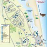 Campground Map Anastasia State Park | Florida | Florida Camping   Map Of Rv Parks In Florida