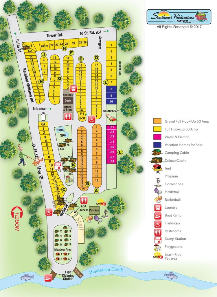 Campground Site Map | Florida Campgrounds And Harvest Host | Rv - Florida Campgrounds Map