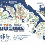Campgrounds, Deluxe Rv Park, Disc Golf And More! – Fishing & Camping - California Campgrounds Map