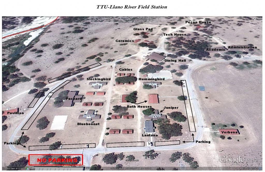 Campus Map | Map | Ttu Center At Junction | Ttu - Texas Tech Campus Map