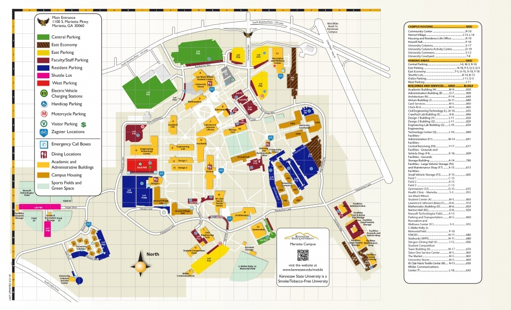 Campus Maps | Kennesaw State University - Texas State Dorm Map