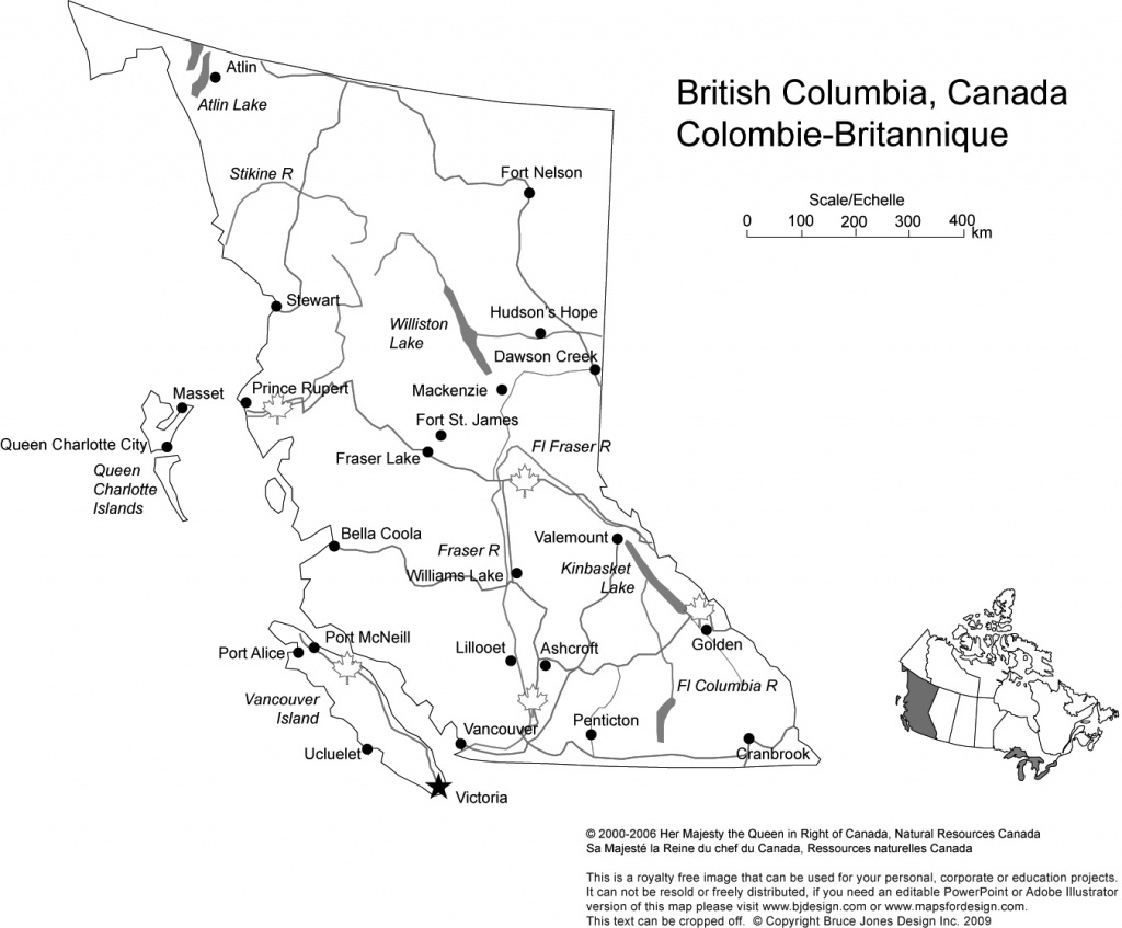 Canada And Provinces Printable, Blank Maps, Royalty Free, Canadian - Printable Map Of Alberta