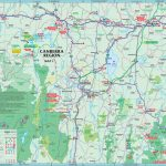 Canberra Maps | Australia | Maps Of Canberra (Capital City Of Australia)   Printable Map Of Canberra