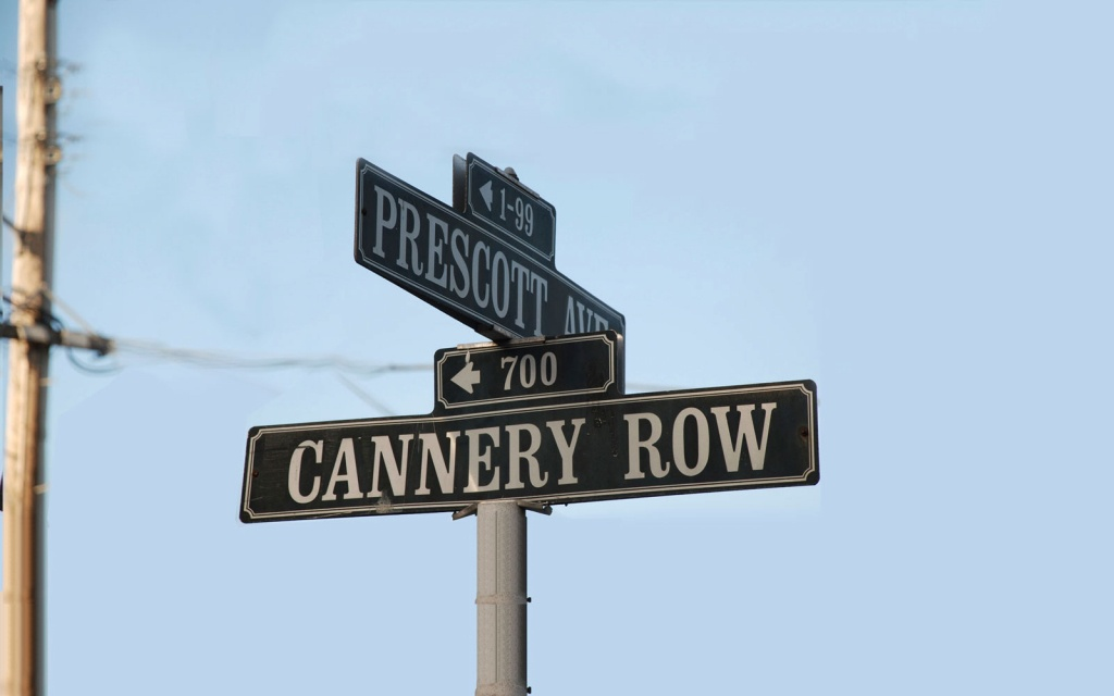 Cannery Row Monterey - Best Western Plus Victorian Inn - Best Western California Map