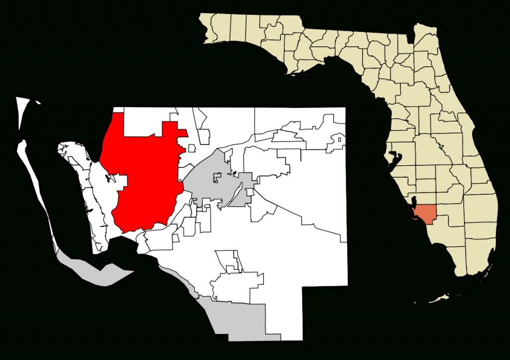 Cape Coral, Florida - Wikipedia - Map Of Florida Including Cape Coral