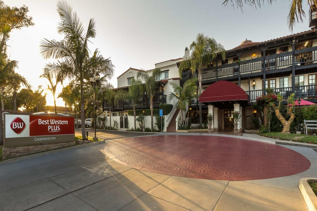 Carpinteria Hotel, Ca - Booking - Map Of Best Western Hotels In California