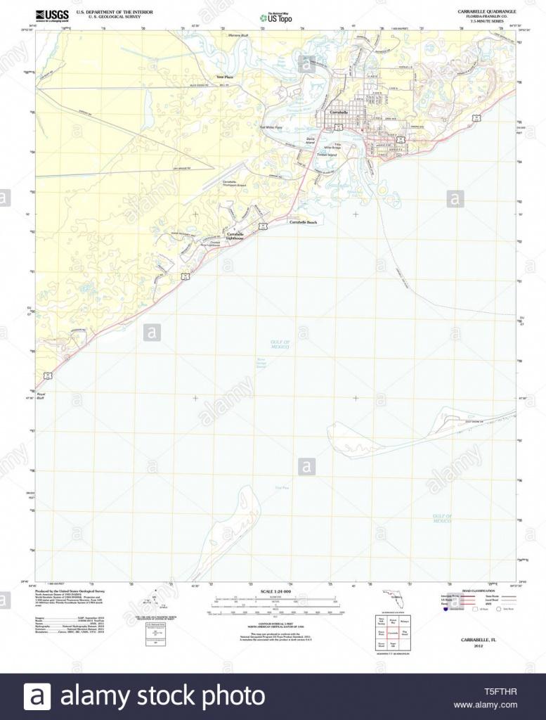 Carrabelle Florida Stock Photos & Carrabelle Florida Stock Images - Carrabelle Florida Map