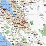 Carte De San Jose, Californie   San Jose En Californie Carte   San Jose California Map