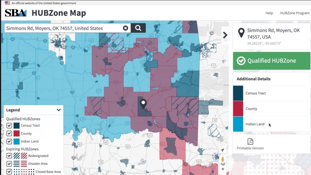 Category: Map 110   Ageorgio - Hubzone Map California