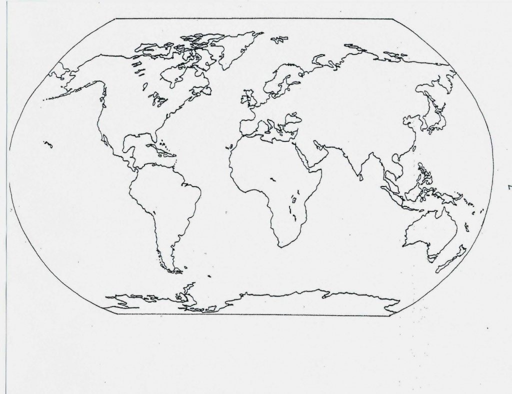 Catholic Schoolhouse: Year 3: Free Printable Blank Maps | Year 3 - Printable Map Of Oceans And Continents