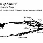 Caverns Of Sonora | Texas Speleological Survey | Tss | Cave Records   Caves In Texas Map